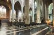 canvas print picture - Interior of Saint Bavo's Cathedral, Gent, Belgium