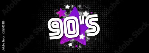 90's / The nineties Canvas-taulu