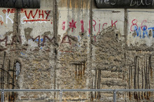 Fragment Of The Berlin Wall.