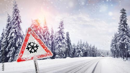 Fotografie, Obraz  Winter - schneefall