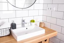 Modern Bathroom Interior In De...