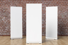 Blank Roll Up Banner Display ...