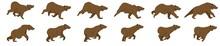 Bear Run Cycle Animation Sprit...