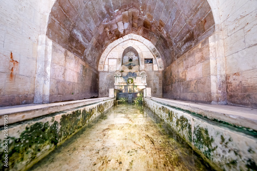 Valokuva  View of fountain for ablution in courtyard of Abdullatif Mosque