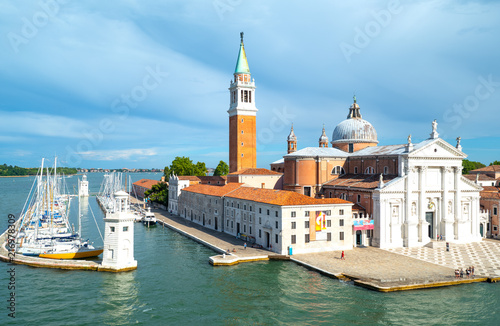 Foto op Plexiglas Venetie Venice, the architectures on the canals banks