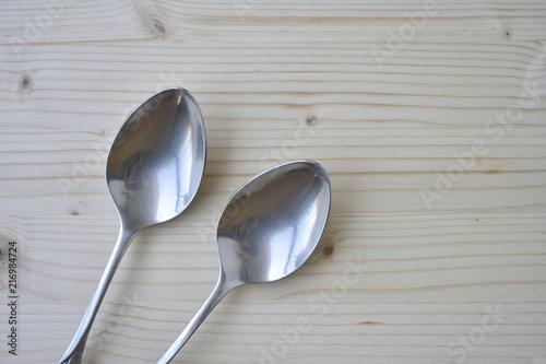 Fotografia, Obraz  Tablespoon(s) on wooden background