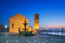 Rhodes City First Light - Rhodes Island, Greece