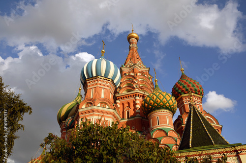 Keuken foto achterwand Aziatische Plekken Saint Basils Cathedral on the Red Square in Moscow