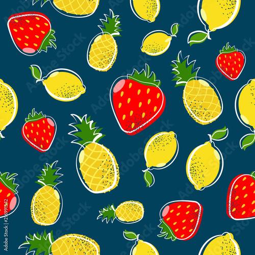 letni-owoc-bez-szwu-wzor-z-truskawkami-i-cytryna