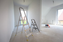 House Interior At Painting And Renovation