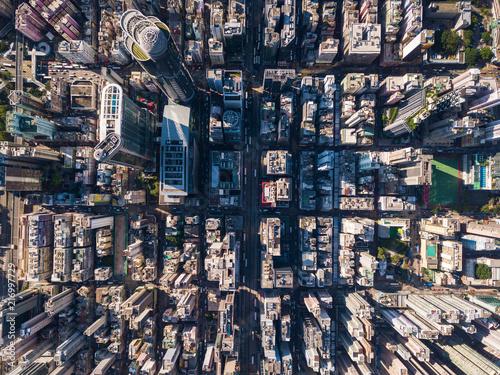 odgorny-widok-hong-kong-budynek
