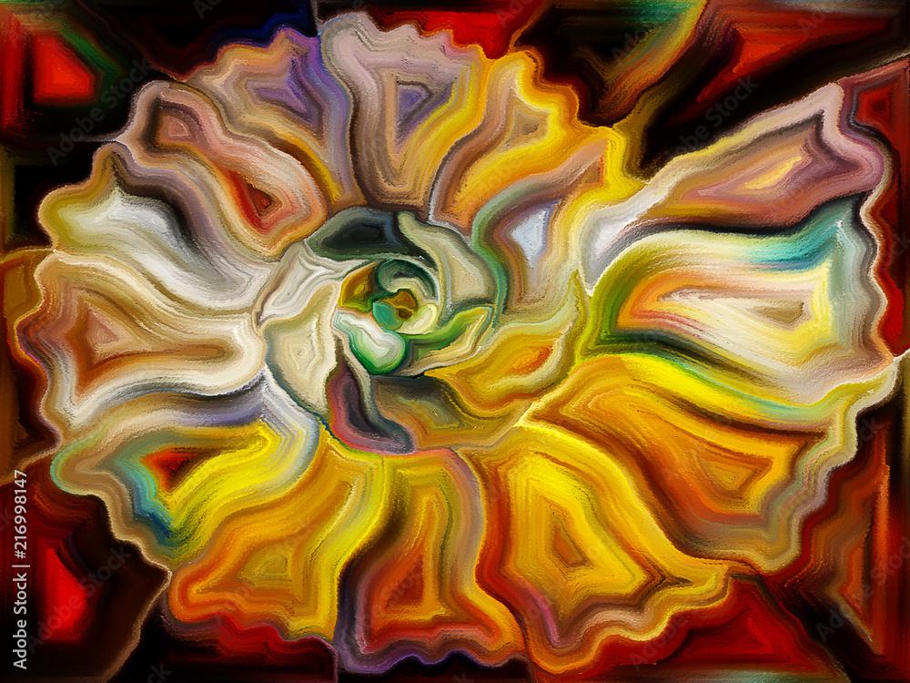 Abstract Natural Forms Art