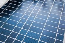 Solar Panel Close Up Macro