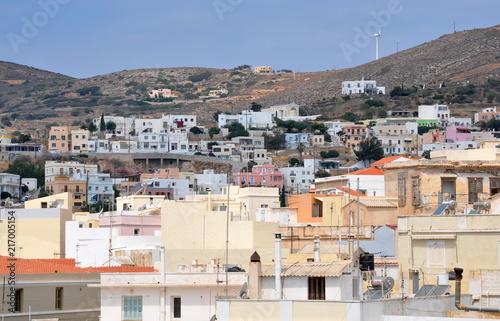 Poster Algérie Siros island - Greece