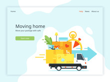 Moving Home Landing Page