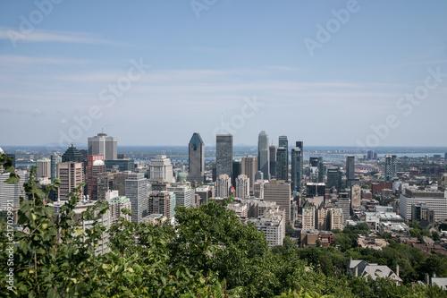 Keuken foto achterwand Buenos Aires Montreal Cityscape