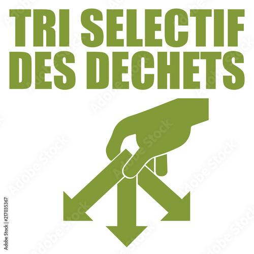 Photo Logo tri sélectif.