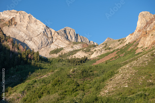 Fotografie, Obraz  Mountain peaks in the John Muir Wilderness of California's eastern Sierra
