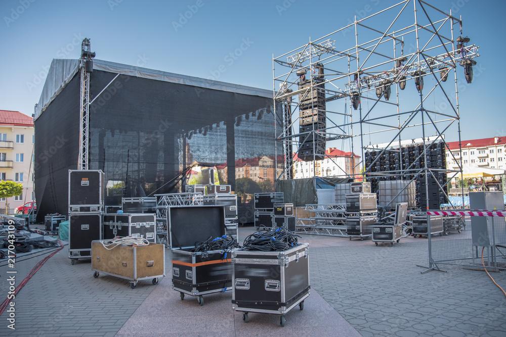 Fototapeta stage before