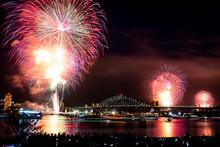 Sydney New Year's Celebrations Fireworks
