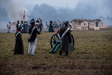 Reconstruction Of The Battle Of The War Of 1812