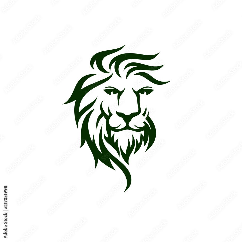 Fototapeta Lion Logo Template