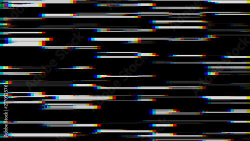 Glitch Effect Computer Screen Error Error Video Abstract Digital