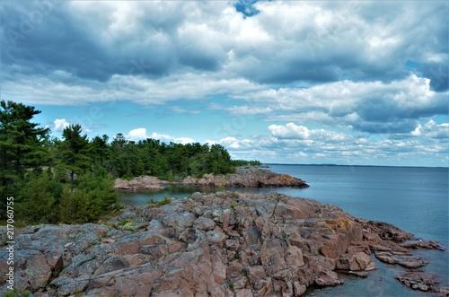 Foto op Canvas Zuid Afrika Killarney Provincial Park, Ontario, Canada