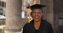 Portrait Of Senior Black Woman...