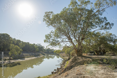 The Darling river near the New South Wales town of Wilcannia.