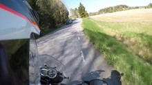 Out Riding The Triumph Tiger 800xc..