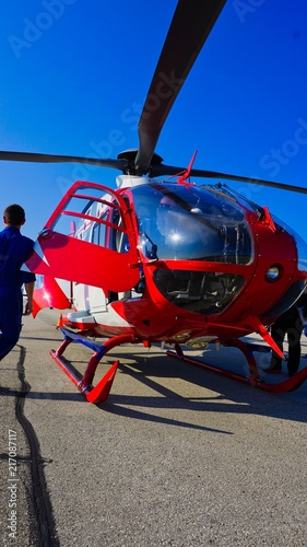 Poster Helicopter Emergency Medical Helicopter - Car Accident - Heart Attack - Stroke - Emergency Evacuation