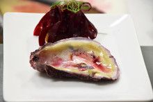 Fine Diining...oysters And Beets