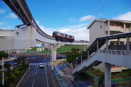 沖縄のモノレール