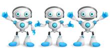 Friendly Robots Vector Charact...