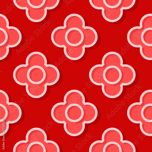 czerwony-desen