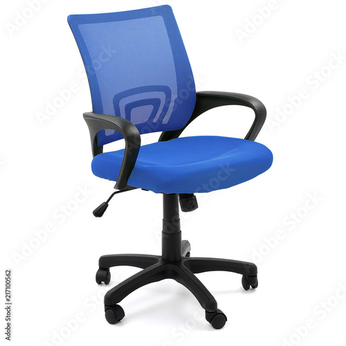 Obraz na plátně Blue office chair