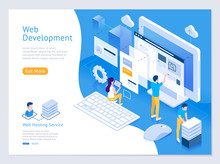 Web Design And Development Vec...