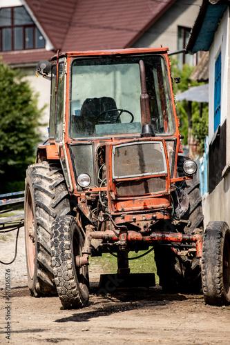 Photo Stands Motor sports трактор