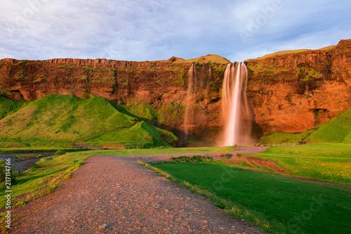 Valokuva Seljalandsfoss waterfall in Iceland