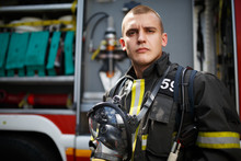 Photo Of Young Firefighter Sta...
