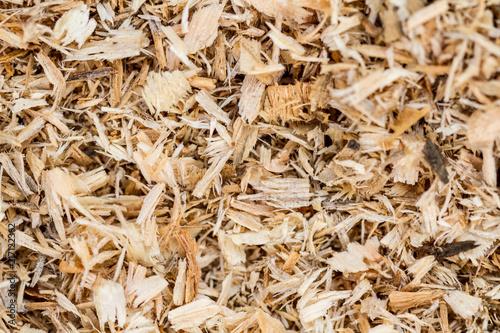 Fotografie, Obraz  Background of sawdust. Texture. Wallpaper