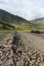 Low Water Levels At Haweswater...