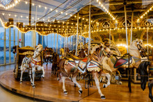 Merry-Go-Round In The Park