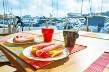 Tasty Sandwiches On Yacht, Val...