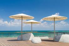 Beach Umbrellas, Promenade In ...