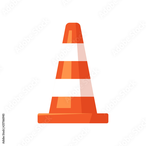 Fototapeta  Traffic cone vector