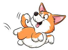 Niedlicher Hund - Vektor-Illustration