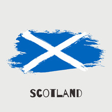 Scotland Vector Watercolor Nat...