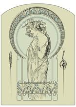 Alphonse Mucha Vector Cover